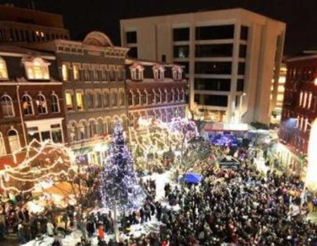 Market Square on New Years – All Rights Reserved – Jeff Kirlin