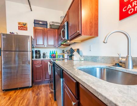 Alternate Kitchen Layout – 2 Bedroom