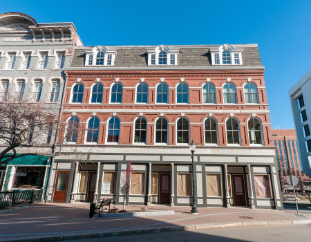 28 Broad Street Lofts on a beautiful day – 3 new units under construction on the ground floor