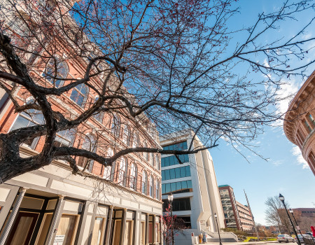 There's no place like home – another beautiful shot of 28 Broad in downtown Bangor
