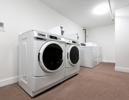 Brand new front loading washers and dryers