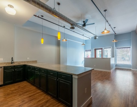 Ground Floor Main Living Area in 2/2 + Study