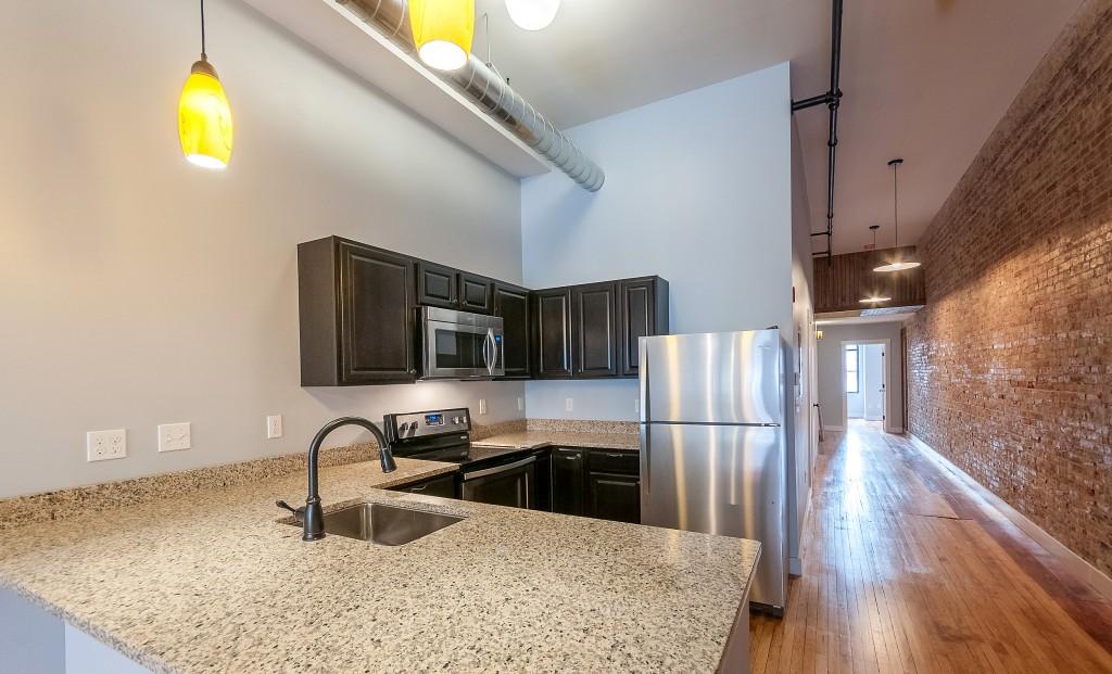 Ground Floor Kitchen in 3/3