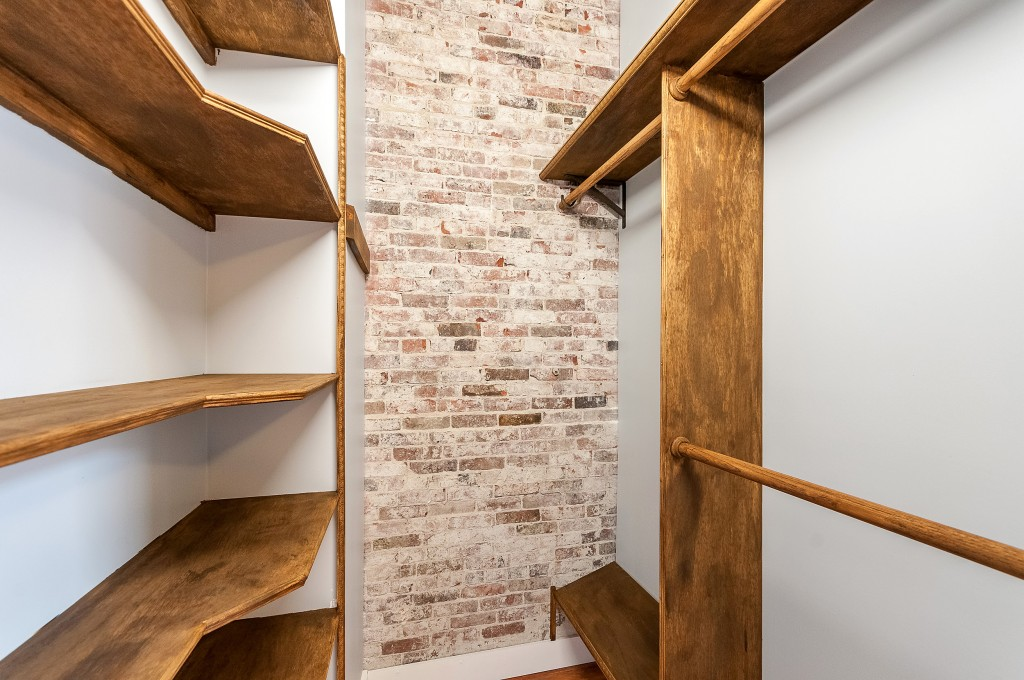 Ground Floor Custom Closet in 2/2