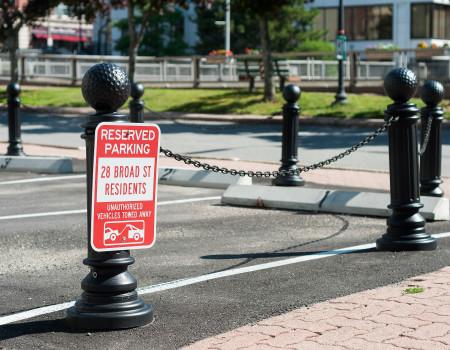 Designated Off-Street Parking (Garage parking available)